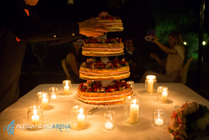 Italian wedding venue Lombardia Villa Bossi - Wedding Cake