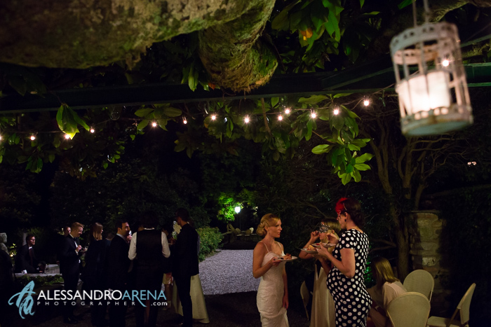 Italian wedding venue Lombardia Villa Bossi - Wedding party