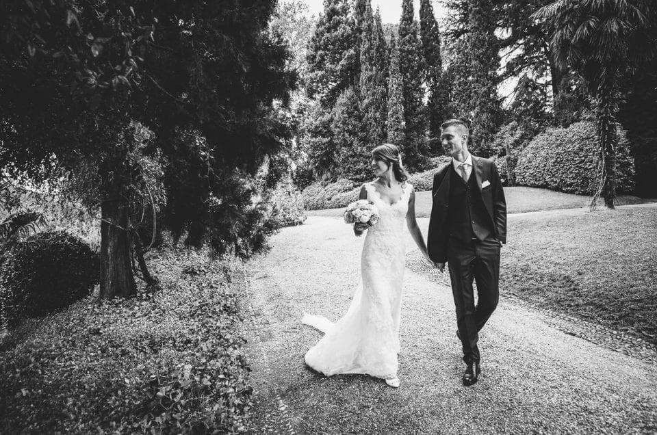 Reportage di matrimonio: location esclusiva sul lago di Como