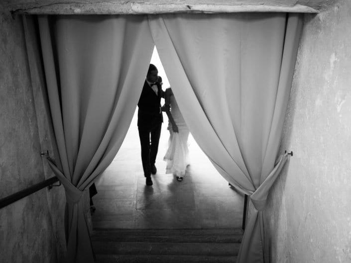 Sposi arrivano in location - Villa Bossi