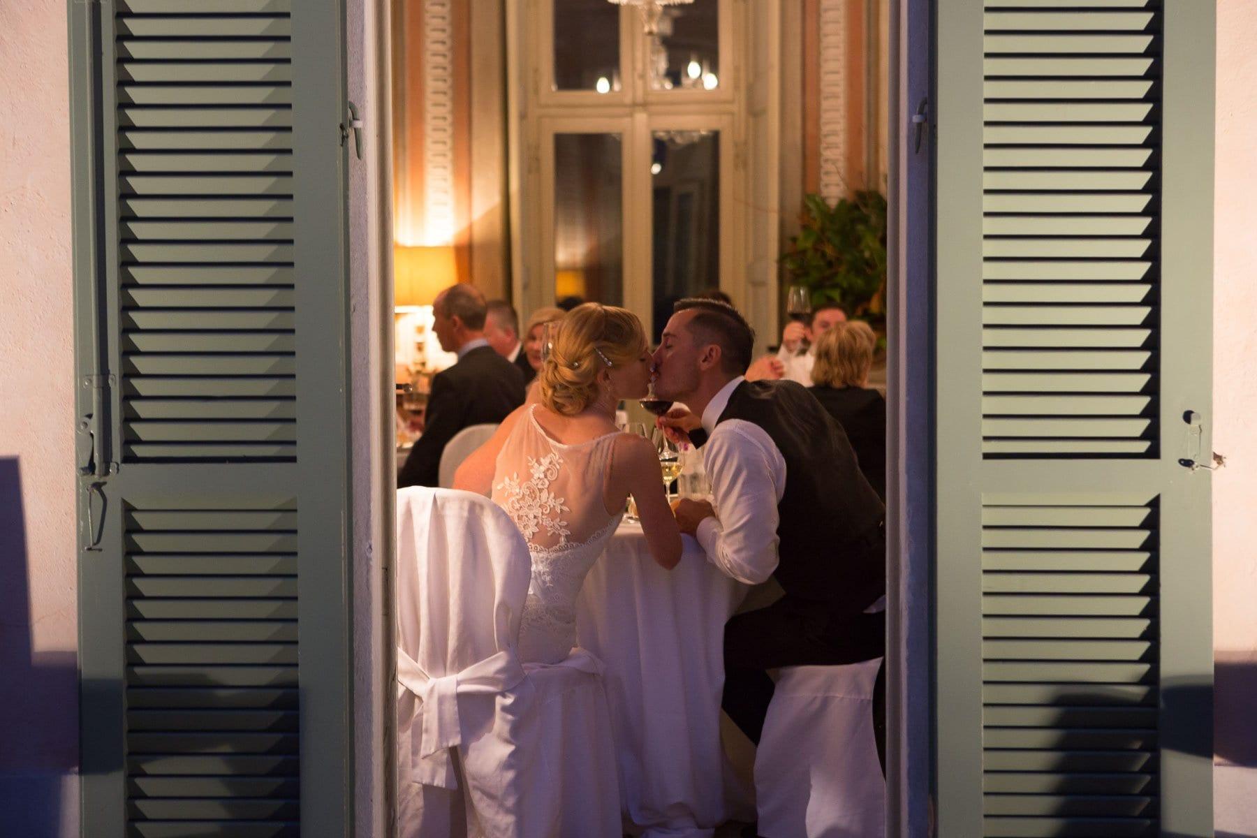Sposi nella location di Villa Bossi Varese