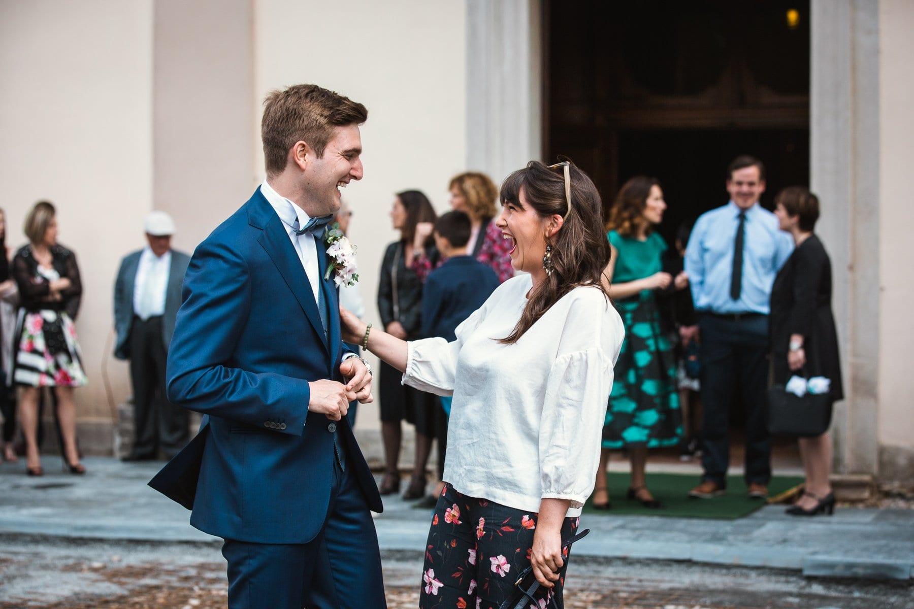 reportage attesa sposo