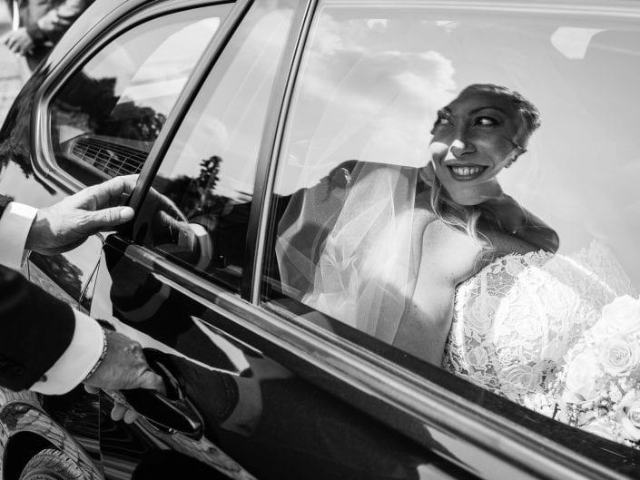 Arrivo della Sposa - Rito civile Le pinete Viggiù