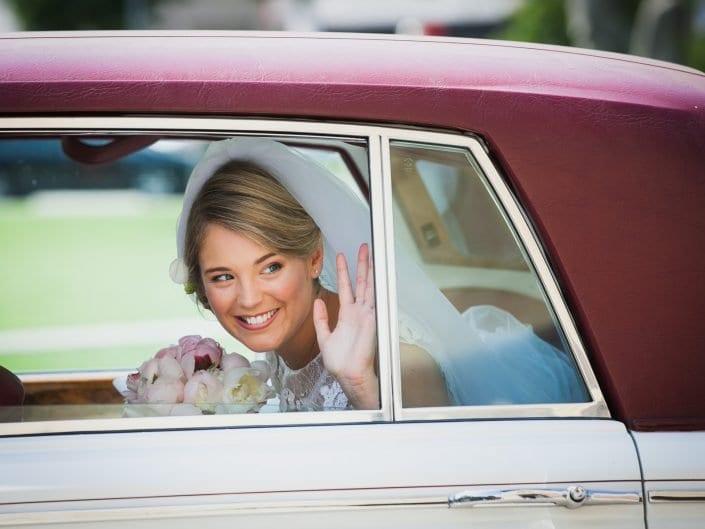 Arrivo della sposa in chiesa