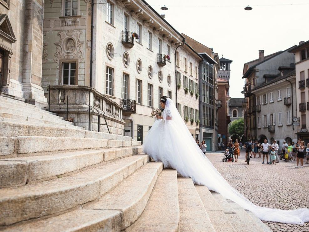 Matrimonio Bellinzona abito sposa