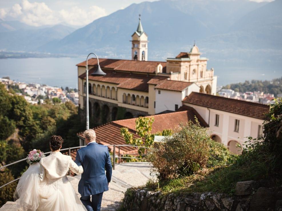 Sposa Matrimonio Chiesa Madonna del sasso Locarno