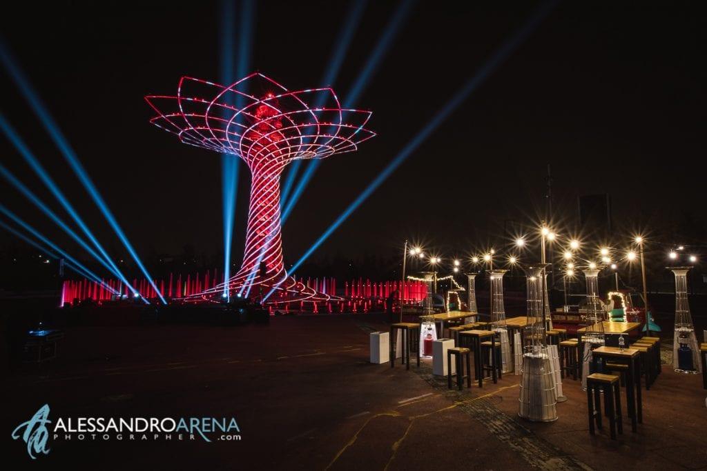 Allestimenti Eventi di lusso Milano - Albero della vita