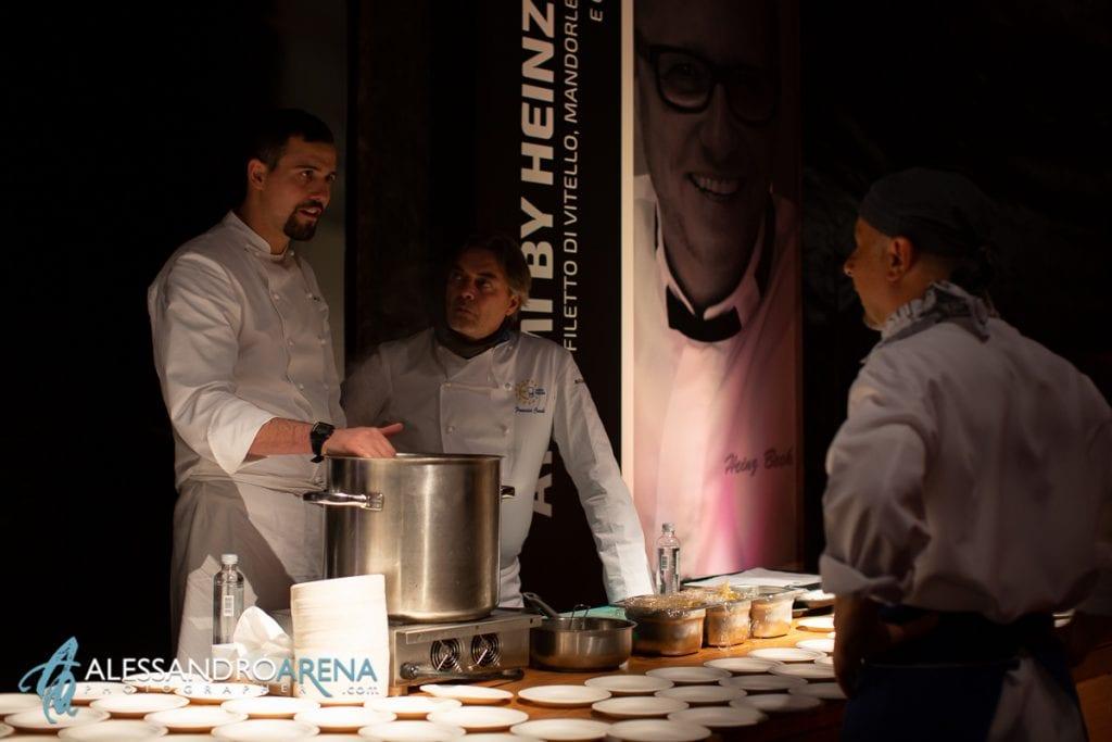 Chef stellati eventi di lusso Milano