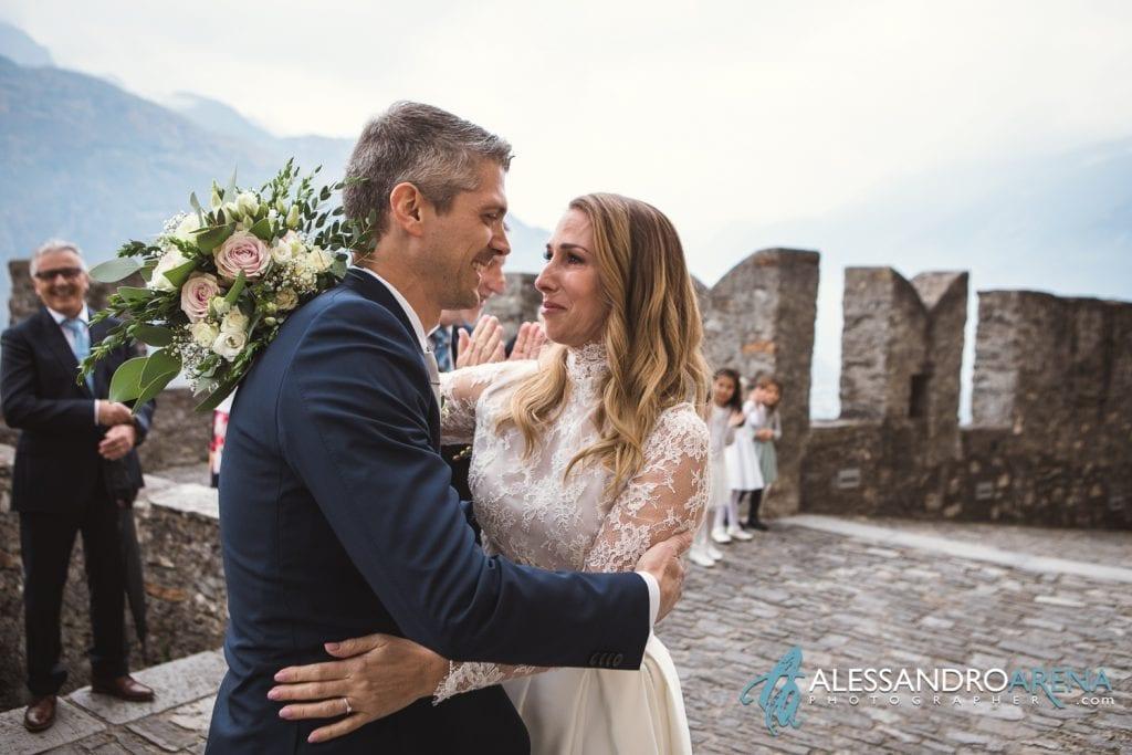 foto matrimonio castello Sasso Corbaro Bellinzona - Emozioni  a prima vista
