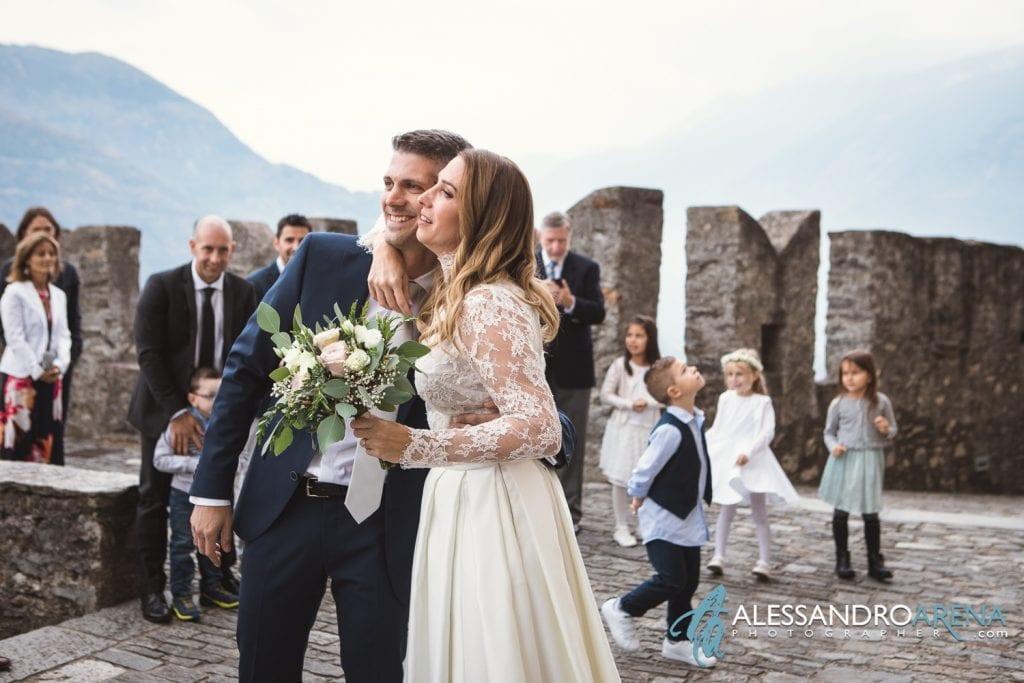 matrimonio castello Sasso Corbaro Bellinzona - Emozioni  a prima vista