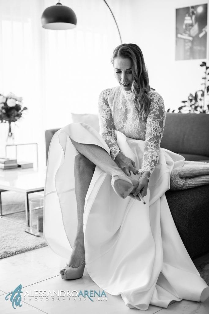 preparativi sposa - scarpe sposa bellinzona