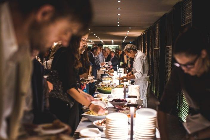 fotografo eventi Milano Filippo Lamantia - Lo chef all'opera
