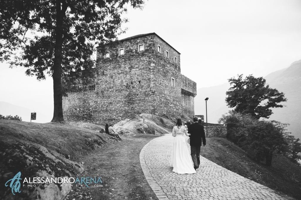 matrimonio castello Sasso Corbaro Bellinzona - Il castello