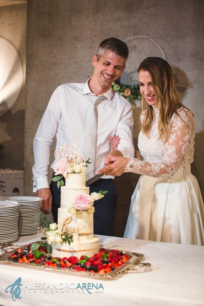 Ricevimento ristorante Castelgrande Bellinzona - Wedding Cake Torta Nuziale