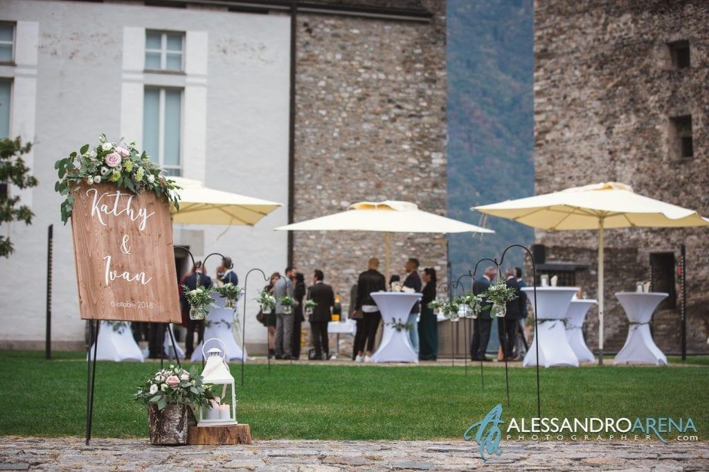 Matrimonio ricevimento ristorante Castelgrande Bellinzona