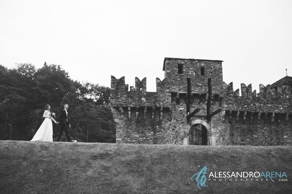 Sposi castello di  Montebello Bellinzona