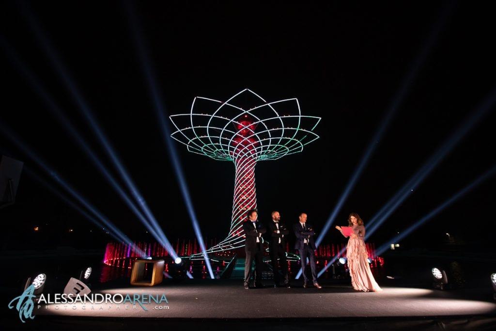 The great phoenix event spettacolo alberto della vita - i Privitera al completo