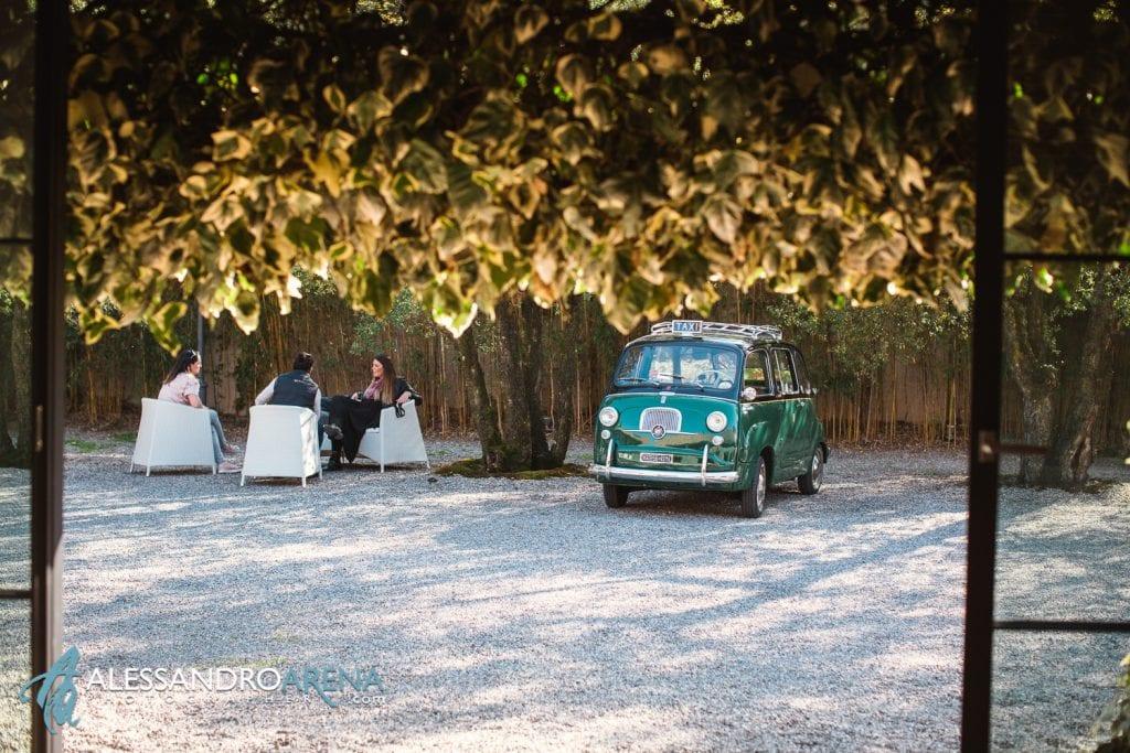 Auto D'epoca per matrimonio a Milano