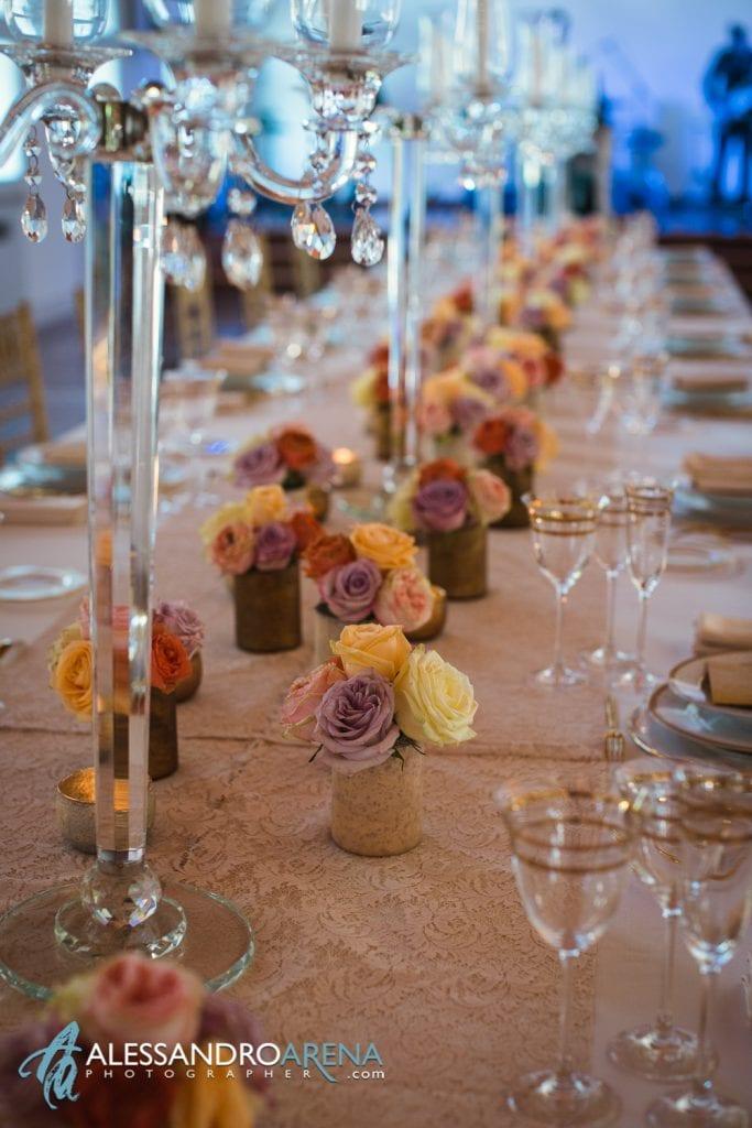 Location per Eventi a Milano - Dettaglio allestimenti matrimonio