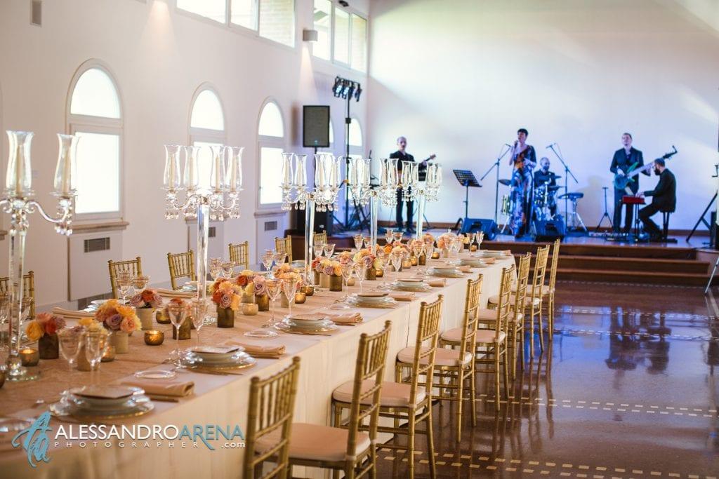 Location per Eventi a Milano - Tavolo imperiale allestimento per matrimonio
