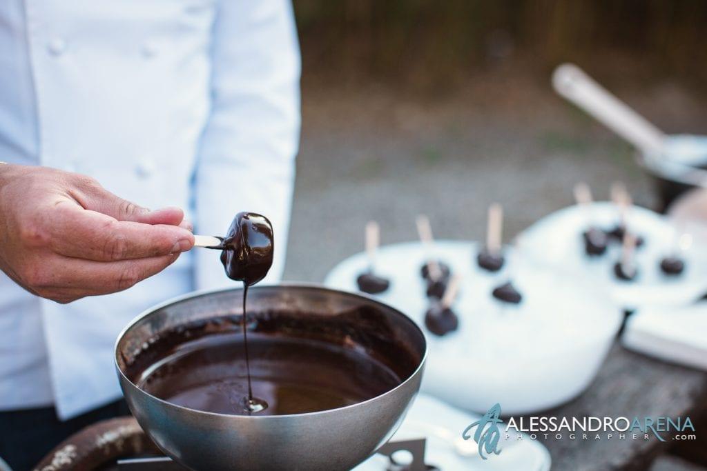 Max and Kitchen Catering a Milano - Gelato mini porzioni al cioccolato