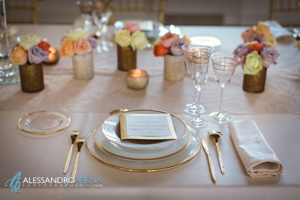 White Tulipa Wedding Planner Milano, Como - Dettaglio mise en place