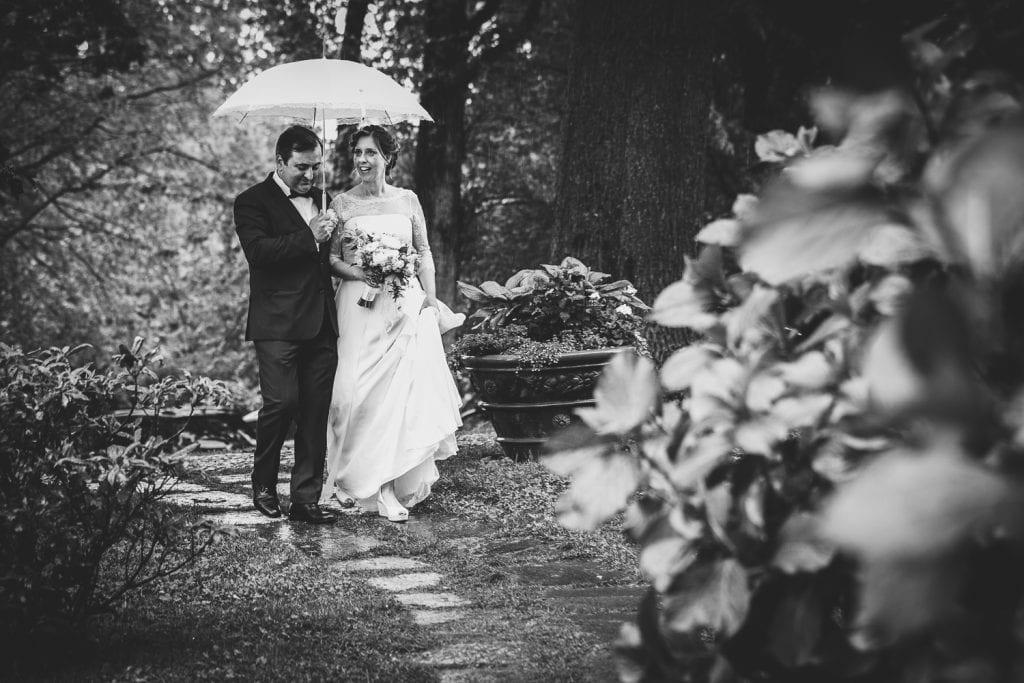 Foto di Matrimonio - Pioggia e Maltempo
