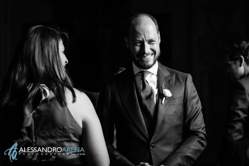 Sposo Attende la sposa - Chiesa Sant'Antonio Abate alla Motta - Matrimonio a Varese