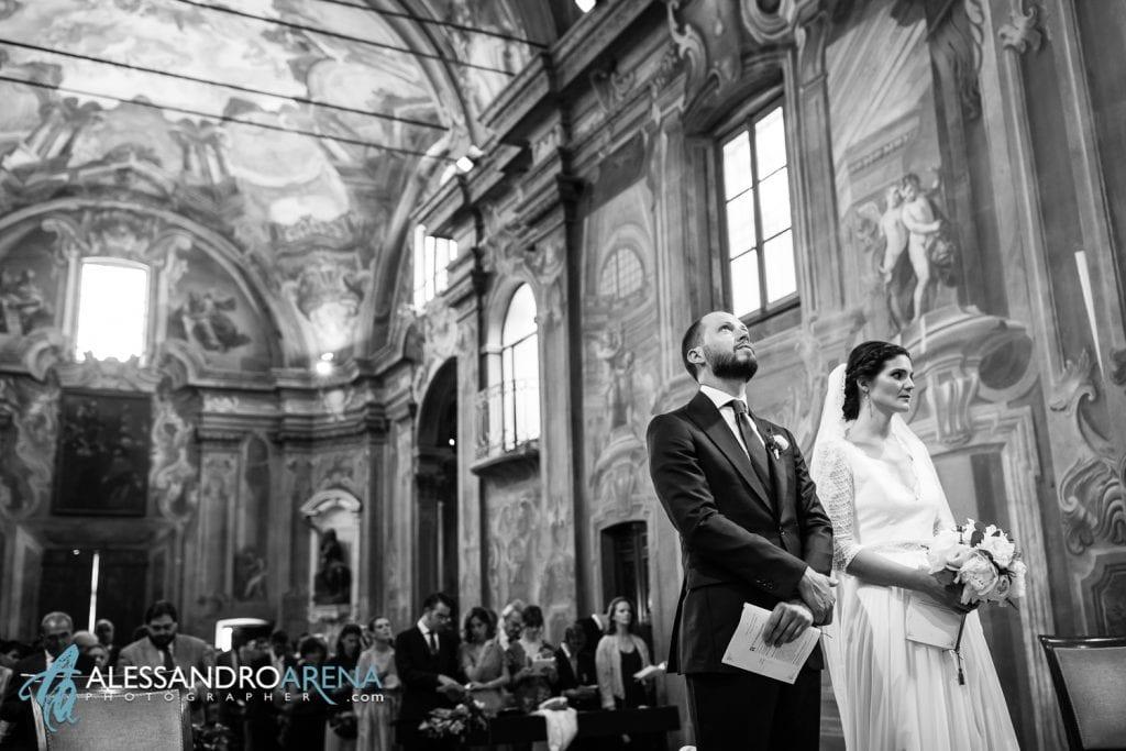 Sposi - Matrimonio Chiesa Sant'Antonio Abate alla Motta - Matrimonio a Varese - Alessandro Arena Fotografo
