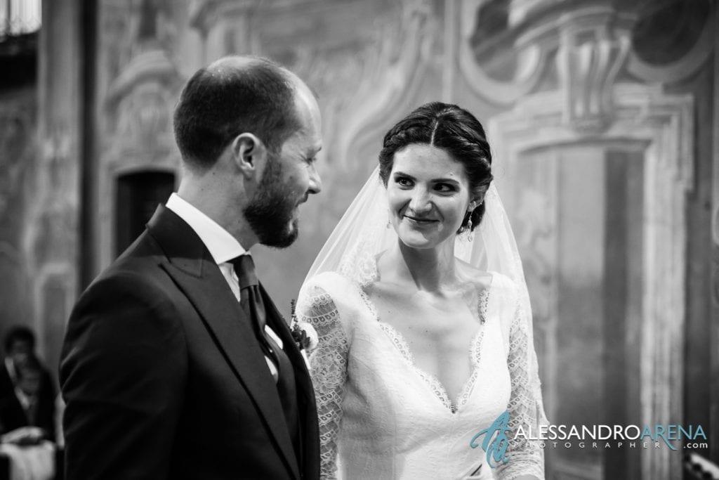 Complicità - Matrimonio Chiesa Sant'Antonio Abate alla Motta - Matrimonio a Varese - Alessandro Arena Fotografo