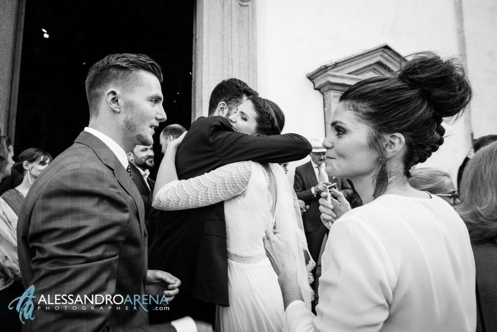 Fratelli e sorelle - Matrimonio a Varese - Chiesa Sant'Antonio Abate