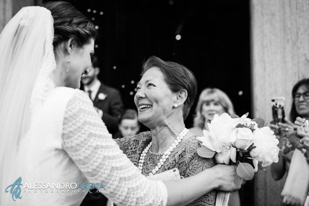 Auguri alla sposa - Matrimonio a Varese - Chiesa Sant'Antonio Abate - Alessandro Arena Fotografo