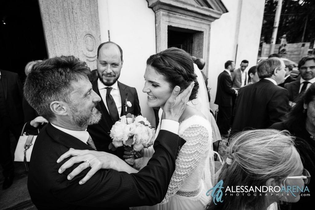 Auguri sposi - Matrimonio a Varese - Chiesa Sant'Antonio Abate - Alessandro Arena Fotografo