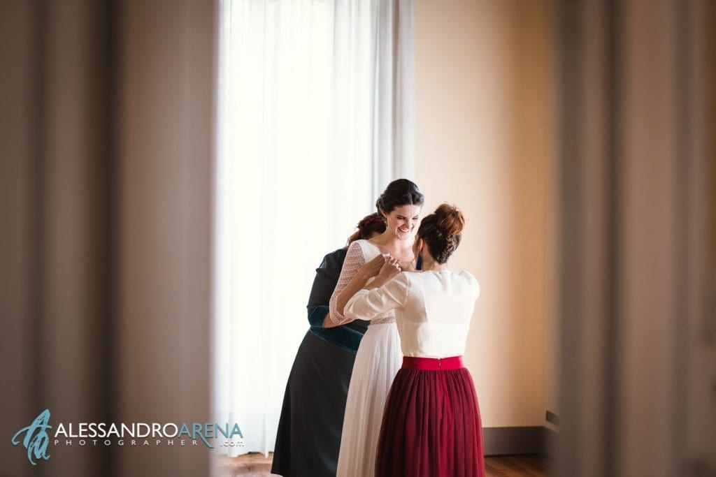 Sposa e Abito - Matrimonio a Varese Location Villa Esengrini Montalbano - Alessandro Arena Fotografo-3