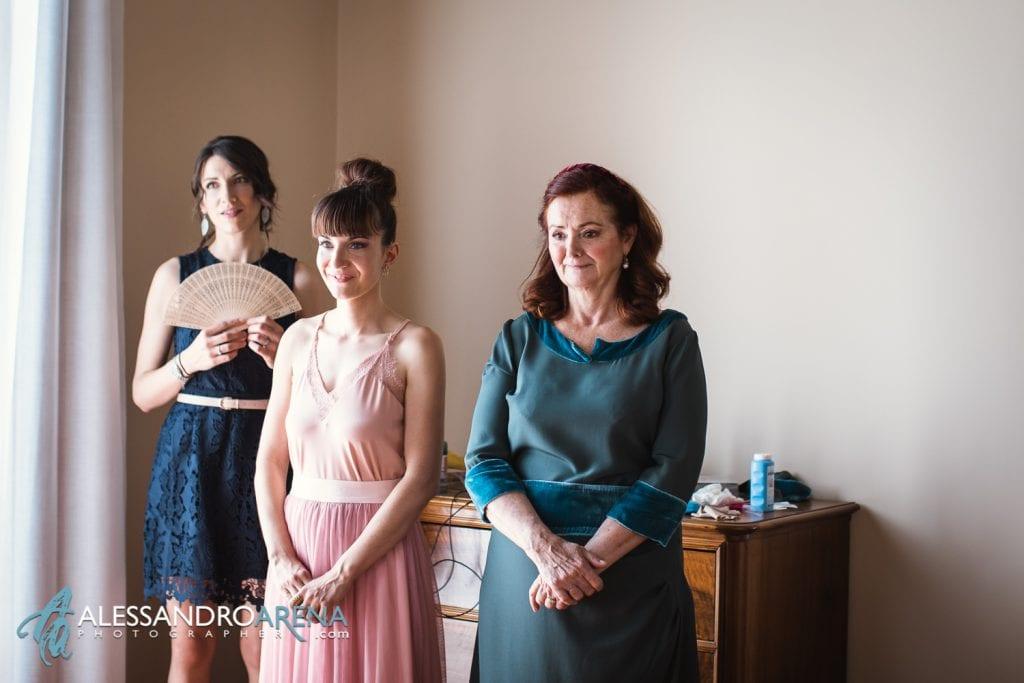 Spettatrici d'onore - Matrimonio a Varese Location Villa Esengrini Montalbano - Alessandro Arena Fotografo-5