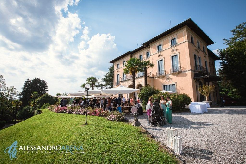 Matrimonio a Villa Montalbano Varese - Aperitivo - Alessandro Arena Fotografo