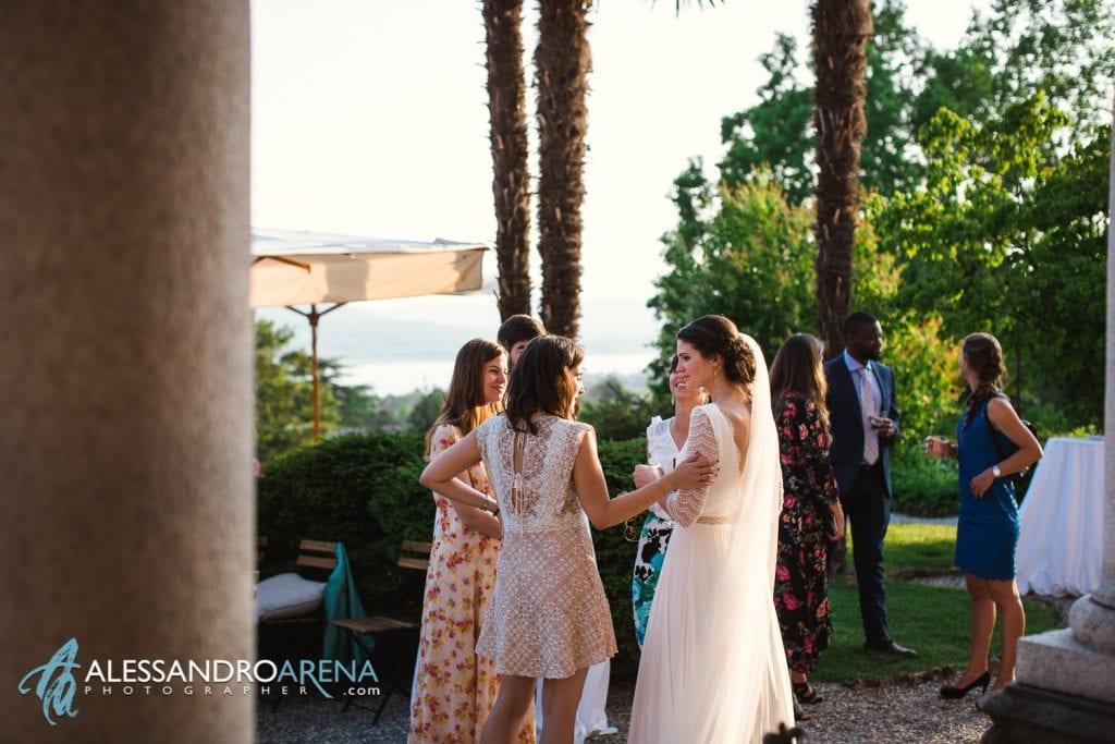Sposa e Aperitivo - Matrimonio a Villa Montalbano Varese