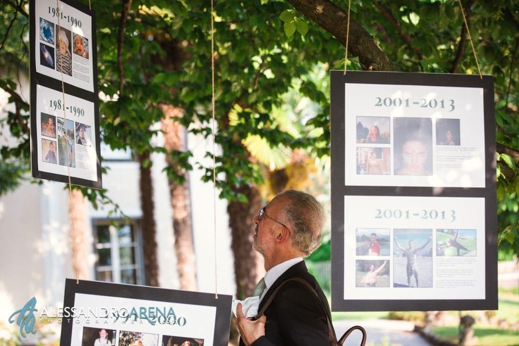 Angolo mostra - Matrimonio a Villa Montalbano Varese