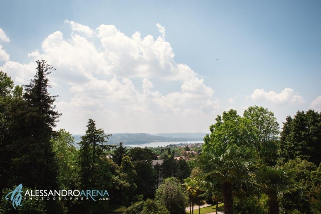 La vista - Preparativi sposa Matrimonio a Varese Location Villa Esengrini Montalbano