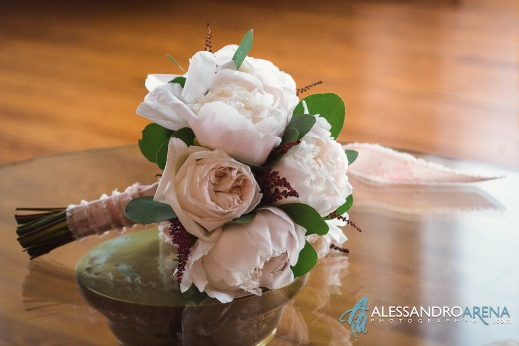 Bouquet Sposa - Preparativi sposa Matrimonio a Varese Location Villa Esengrini Montalbano