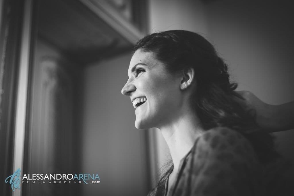 Sposa - Preparativi sposa Matrimonio a Varese Location Villa Esengrini Montalbano