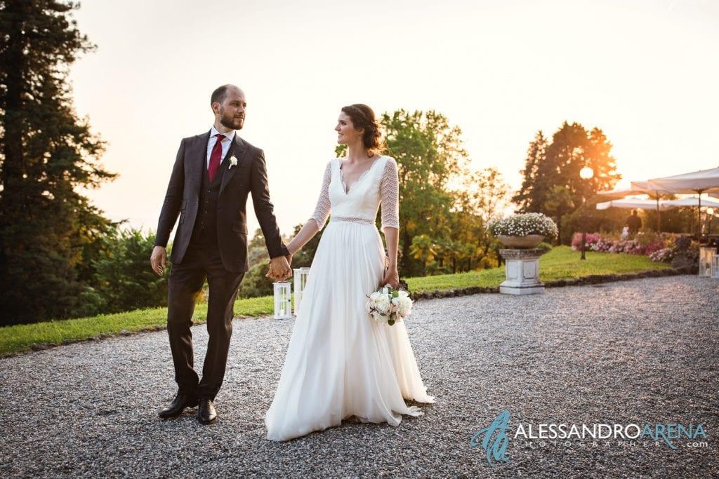 Sposi a Villa Esengrini Montalbano Varese - Reportage - Alessandro Arena Fotografo