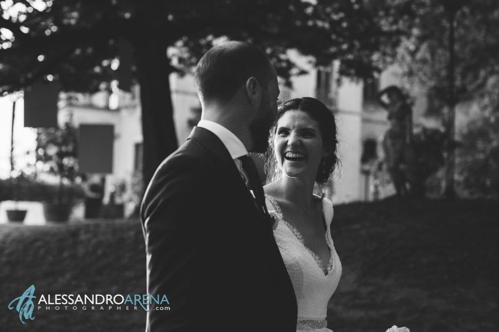 Gioia degli Sposi a Villa Esengrini Montalbano Varese - Reportage - Alessandro Arena Fotografo