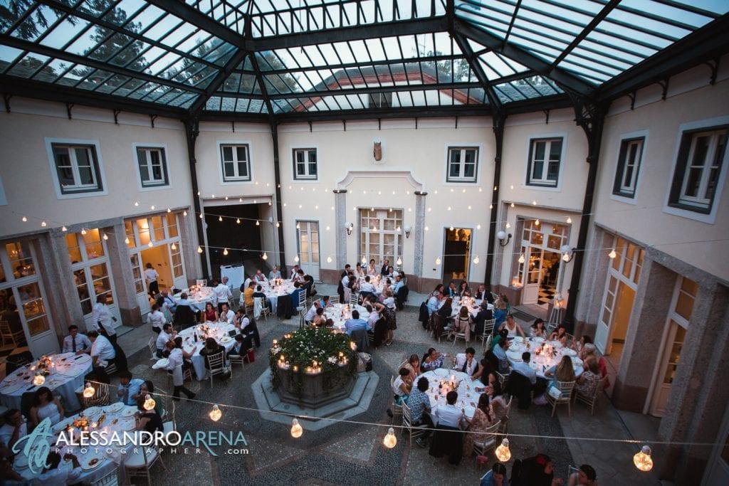 Sala Scuderia - Villa Esengrini Montalbano Varese - Wedding Reportage - Alessandro Arena Fotografo