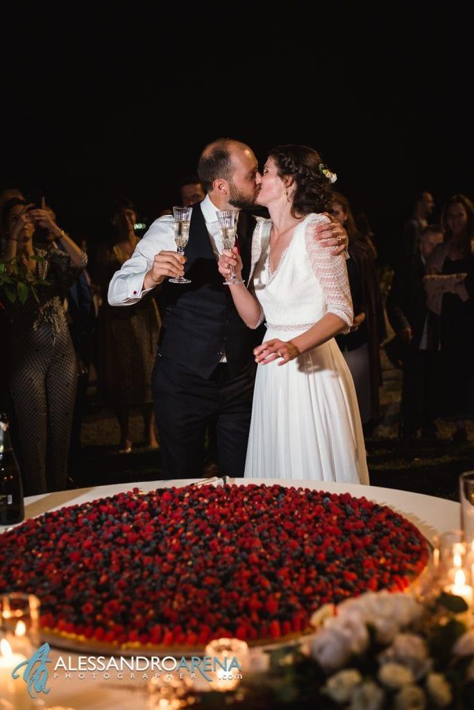 Torta - Villa Esengrini Montalbano Varese - Wedding Reportage - Alessandro Arena Fotografo