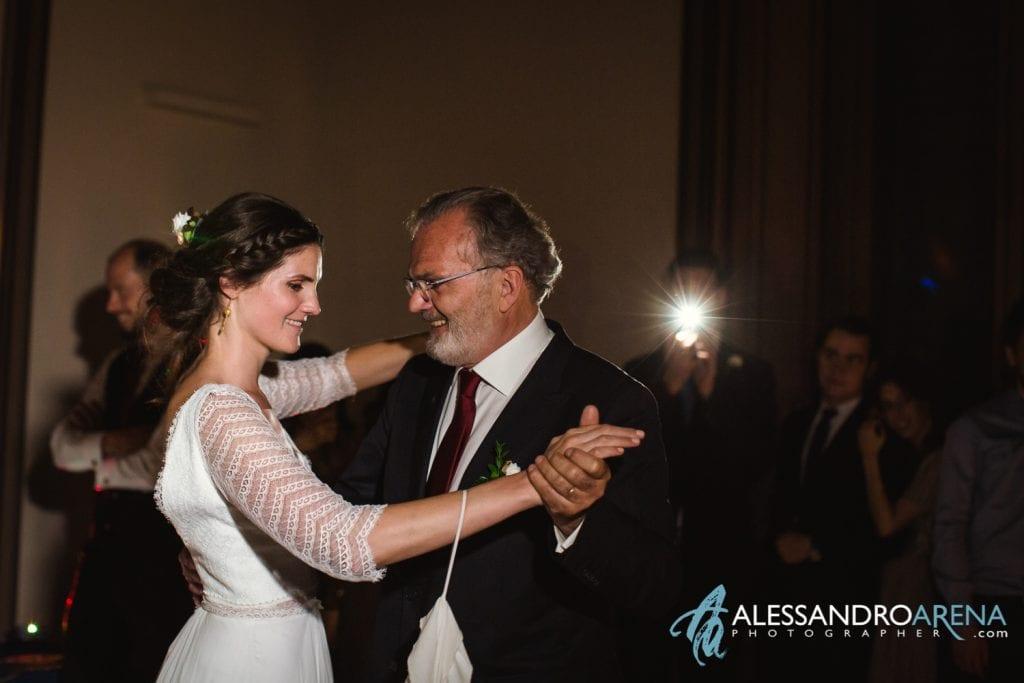 Primo ballo Papà della sposa - Villa Esengrini Montalbano Varese - Wedding Reportage