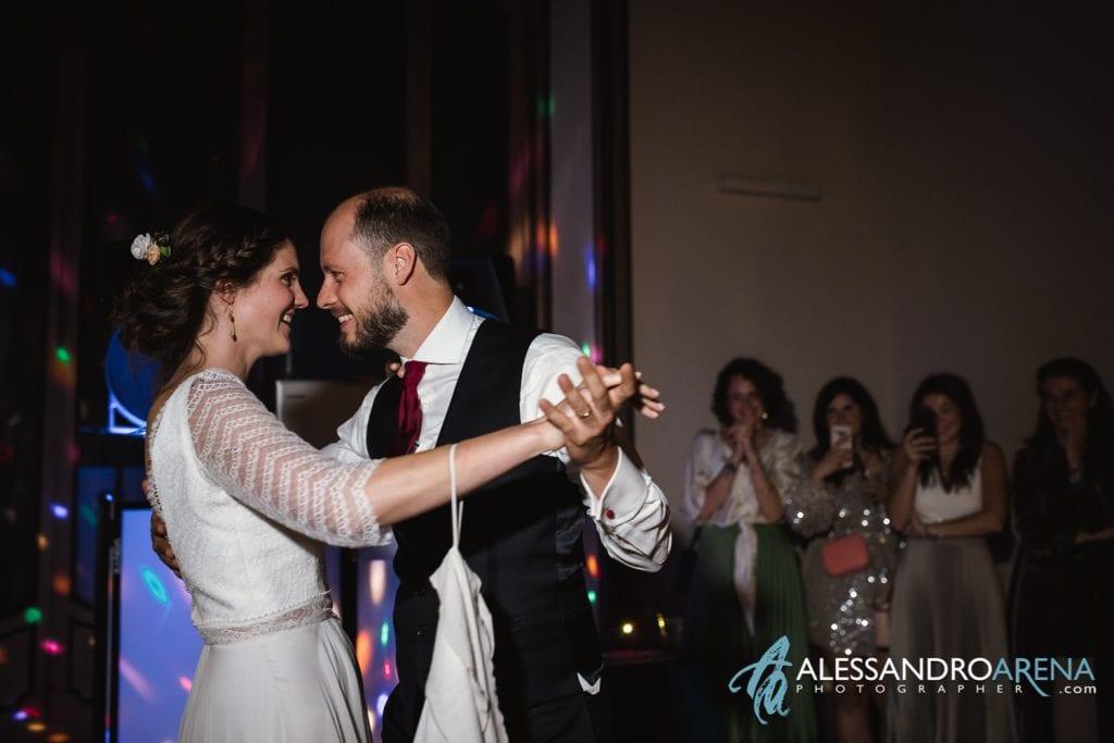Primo ballo Sposi - Villa Esengrini Montalbano Varese - Wedding Reportage