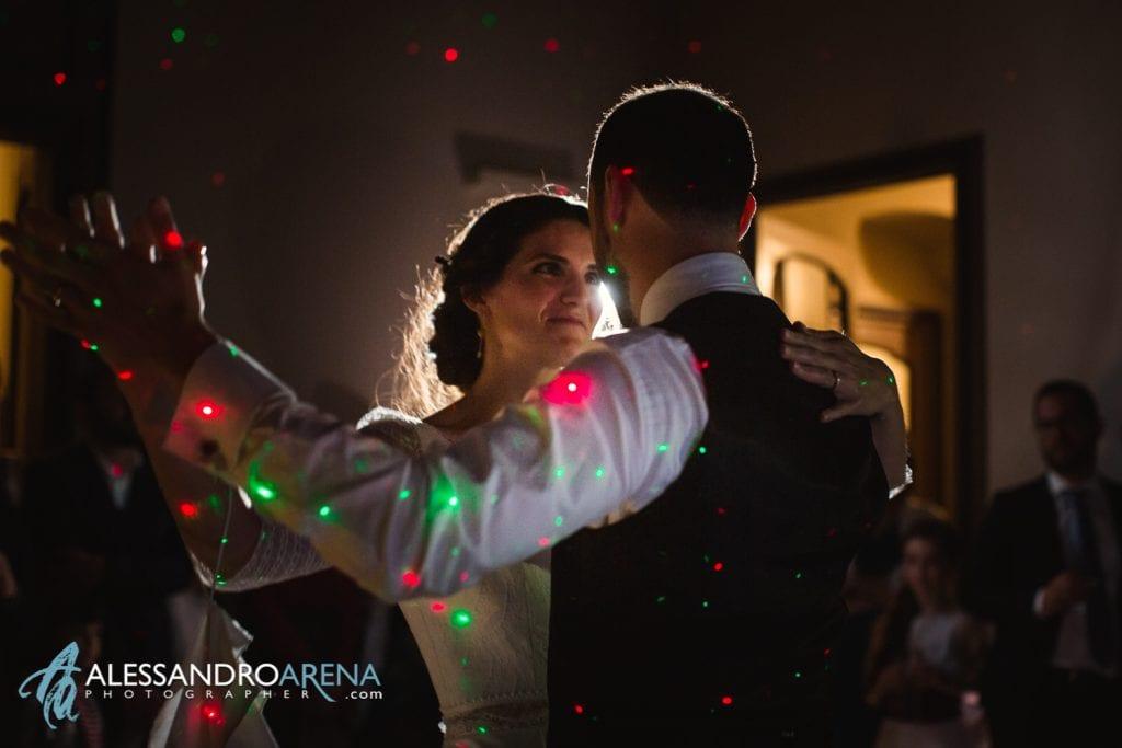 Ballo sposi - Villa Esengrini Montalbano Varese - Wedding Reportage