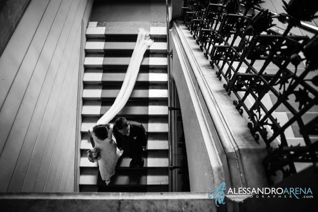 Sposi arrivano in location location per matrimonio lago di Como - Villa Dosso Pisani Como