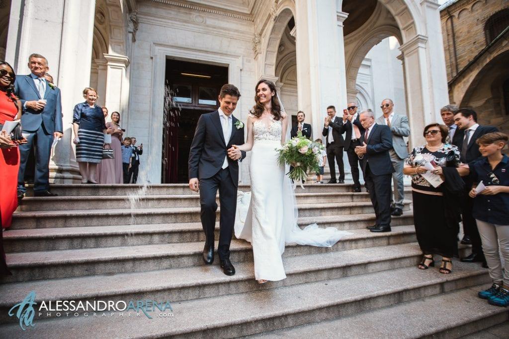 Matrimonio a Bergamo Città Alta - Destination Wedding